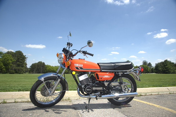 1975 RD350 Restoration